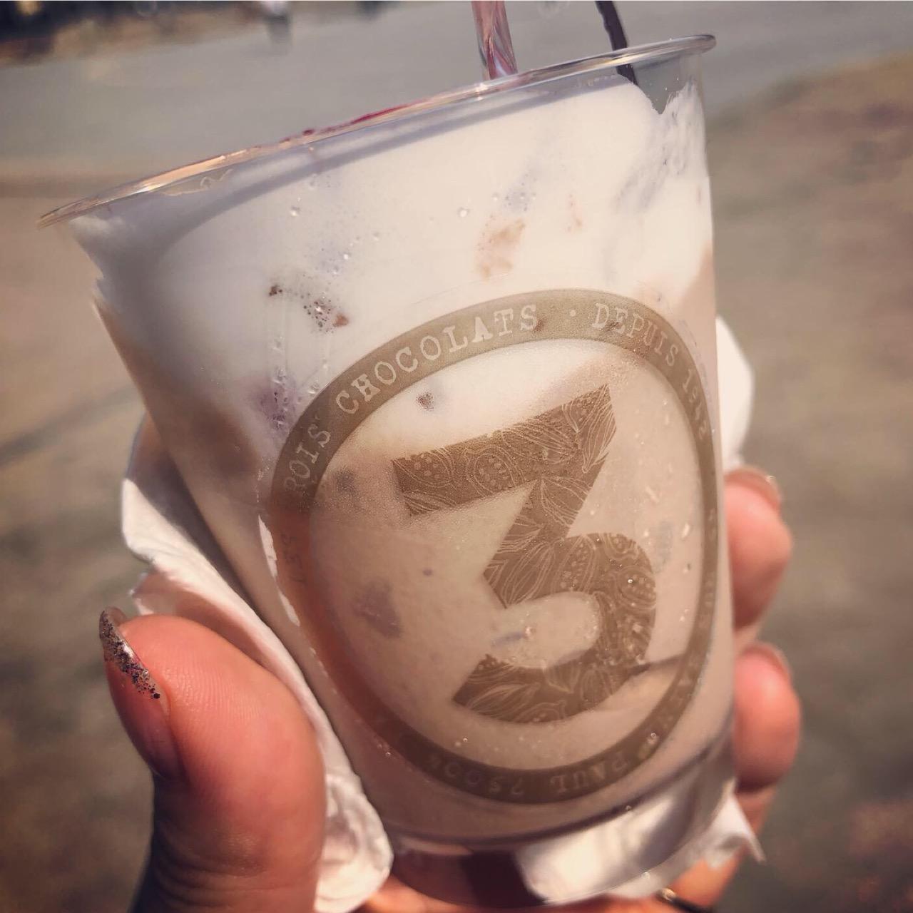 <福岡*天神>今年も登場!水の要らないソフトクリーム?!レ トロワ ショコラ × チョコレートショップの天神トロワパフェ♡_3