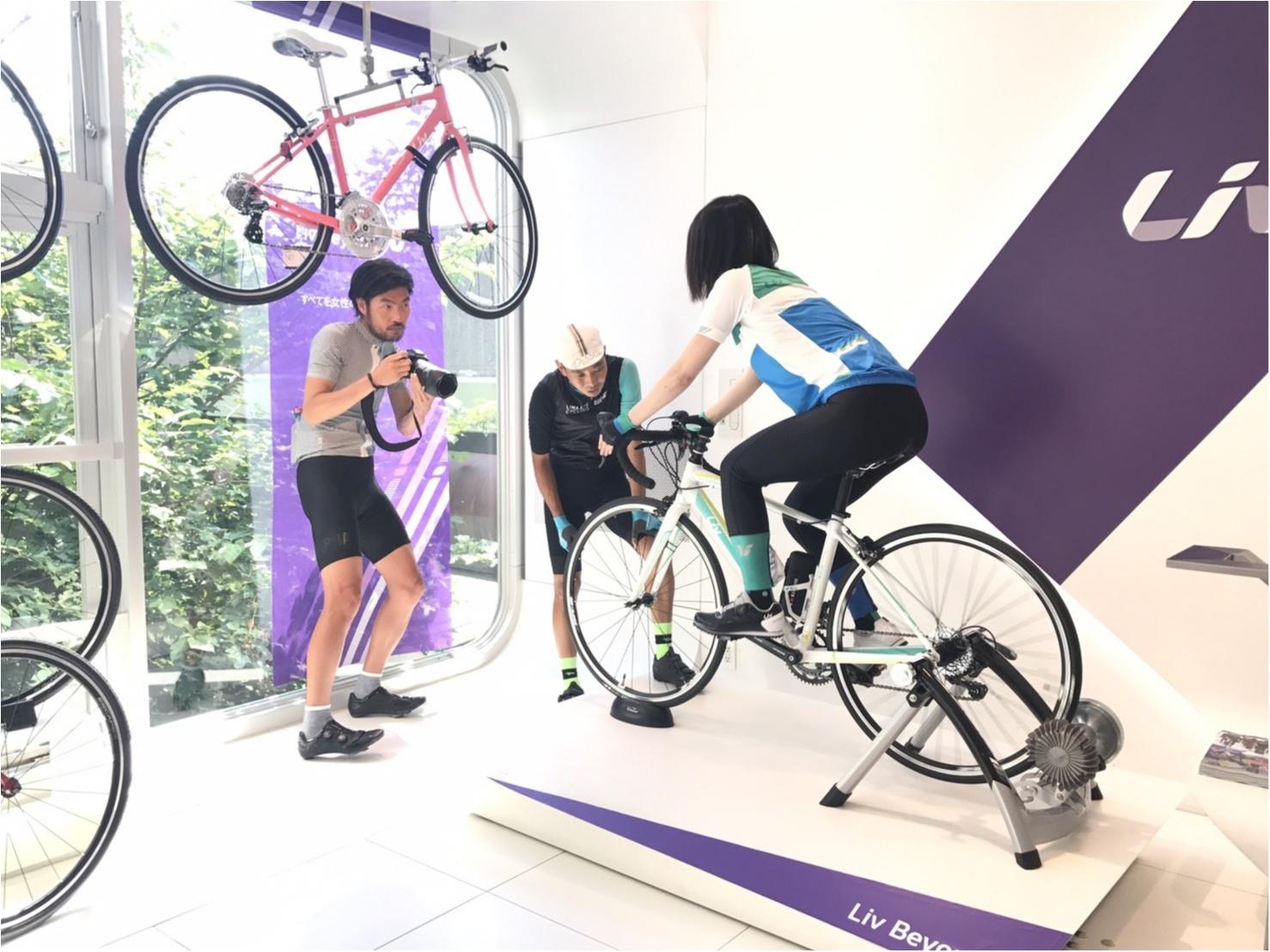 ロードバイク初体験!元オリンピック選手からしっかり教わります!#ツール・ド・東北【#モアチャレ あかね】_4
