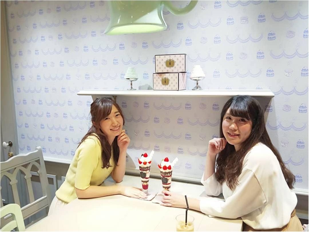 【表参道 Q-pot CAFE.】お菓子で溢れた店内で♡アクセサリーをモチーフにしたスイーツに舌鼓_6