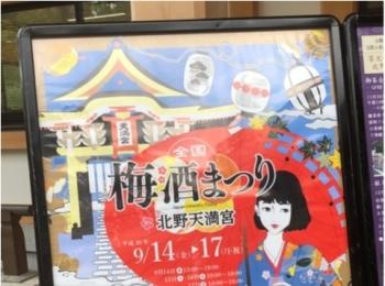 ≪京都≫の北野天満宮の【梅酒祭り】に参加してきました!全国各地の梅酒が飲み比べれて最高です!