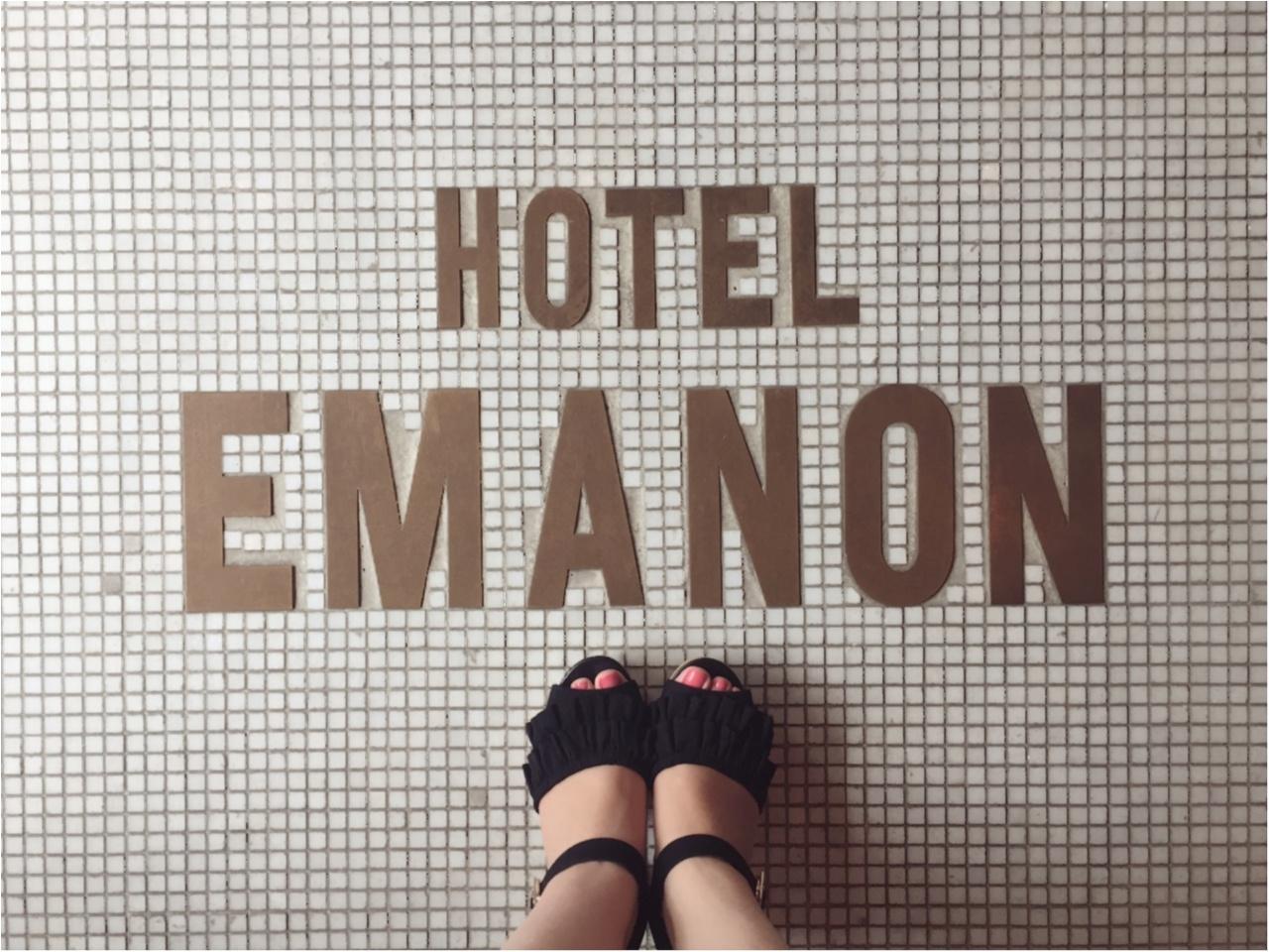ここはホテル?のようなおしゃれなレストラン『HOTEL EMANON』でモアハピ女子会!!_2