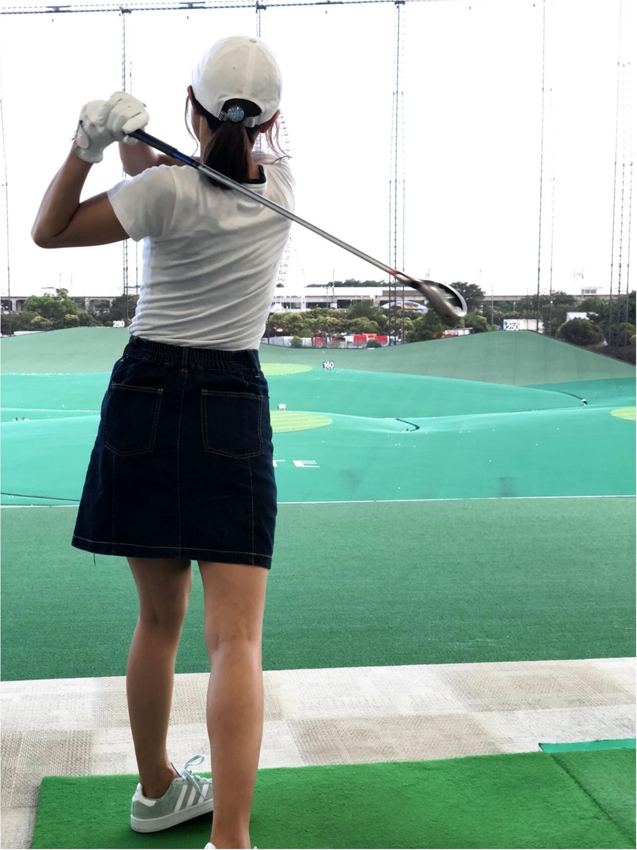 初体験!ゴルフ女子!!_2