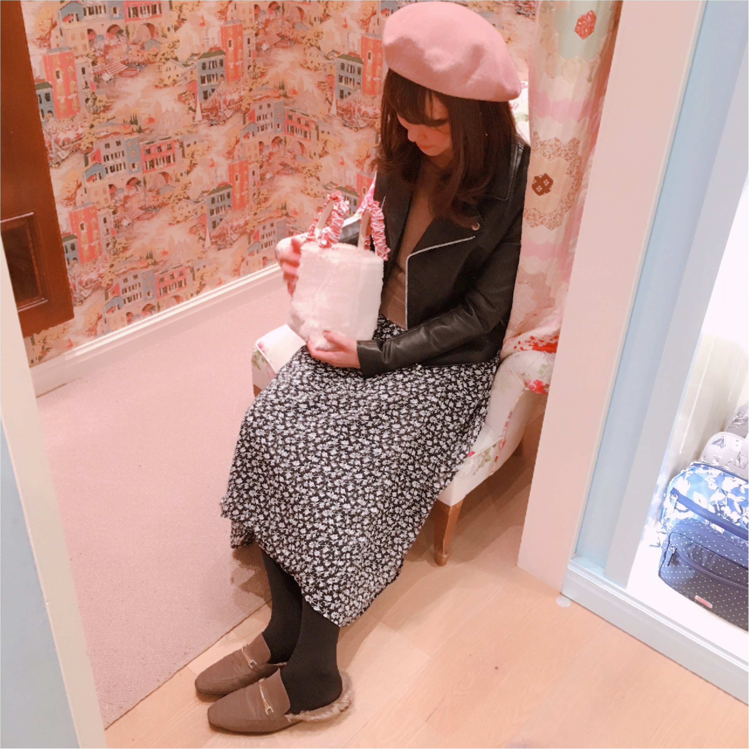 【GU(ジーユー)】今期トレンドのベレー帽を取り入れたコーデ♡_3