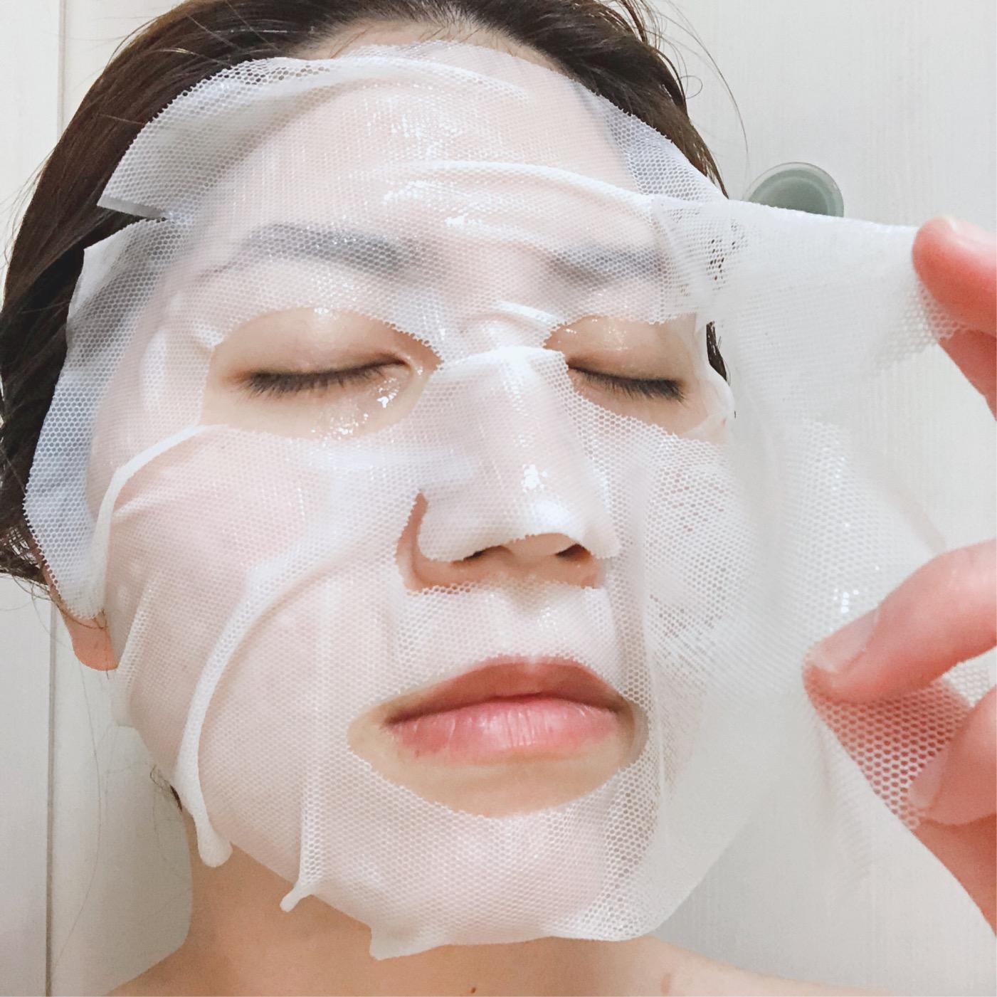 話題のFEMMUE(ファミュ)の新感覚シートマスクを体験!!_6