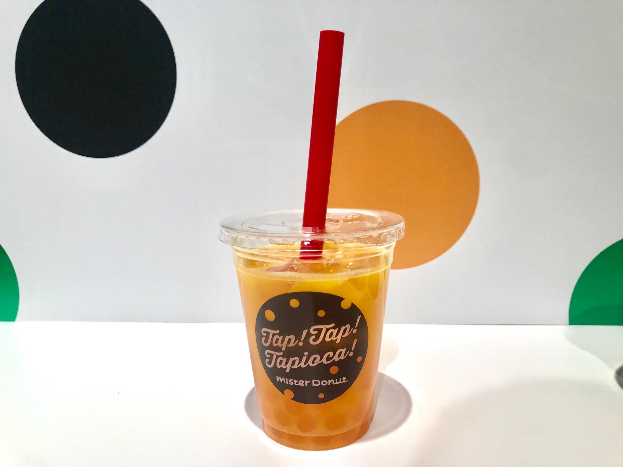 ミスドにタピオカがやってきた♡ ストロベリーソーダ・マンゴーオレンジ・ミルクティ・抹茶ミルク、あなたはどれを指名する?_3
