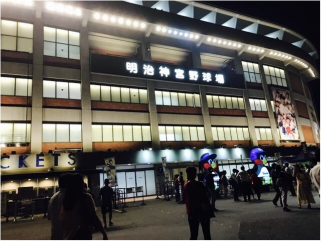 【プロ野球観戦】神宮球場がビアガーデン!?生ビール【半額】ナイター★_1