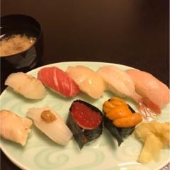 函館 食べログNo. 1梅乃寿司 に行ってきた!