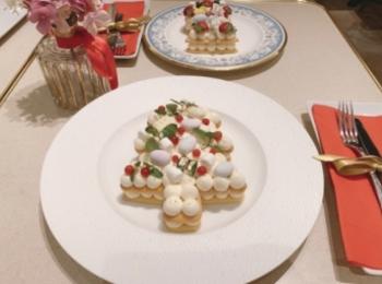 【有楽町カフェ】『ラ・メール・プラール』×marryカフェのクリスマスケーキがかわいすぎる♡