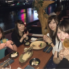 《福岡女子会》リバーサイドで最高にオシャレで最高な夜を味わお!