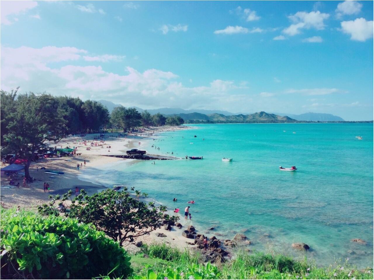 【TRIP】ワイキキビーチだけじゃない♡ハワイで行きたいまったりビーチはここがおすすめ♡_4