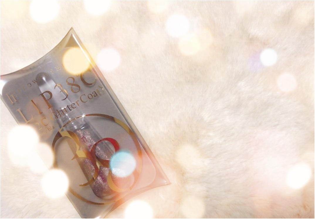 2018年元旦!ゲリラ発売の限定リップ♡フローフシの「LIP38℃ -2℃ GlitterCoat」《シアーブラック》_3_1