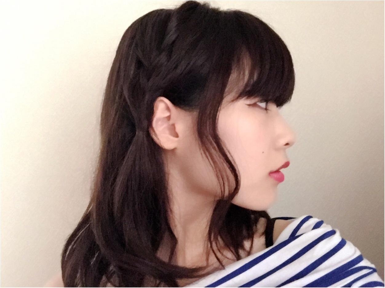 NMB48の女子力おばけ♡吉田朱里さん風ヘアアレンジ_3