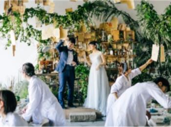 研究室にサッカー場!? 「世界にひとつだけ♡」のオリジナル結婚式が素敵すぎ!