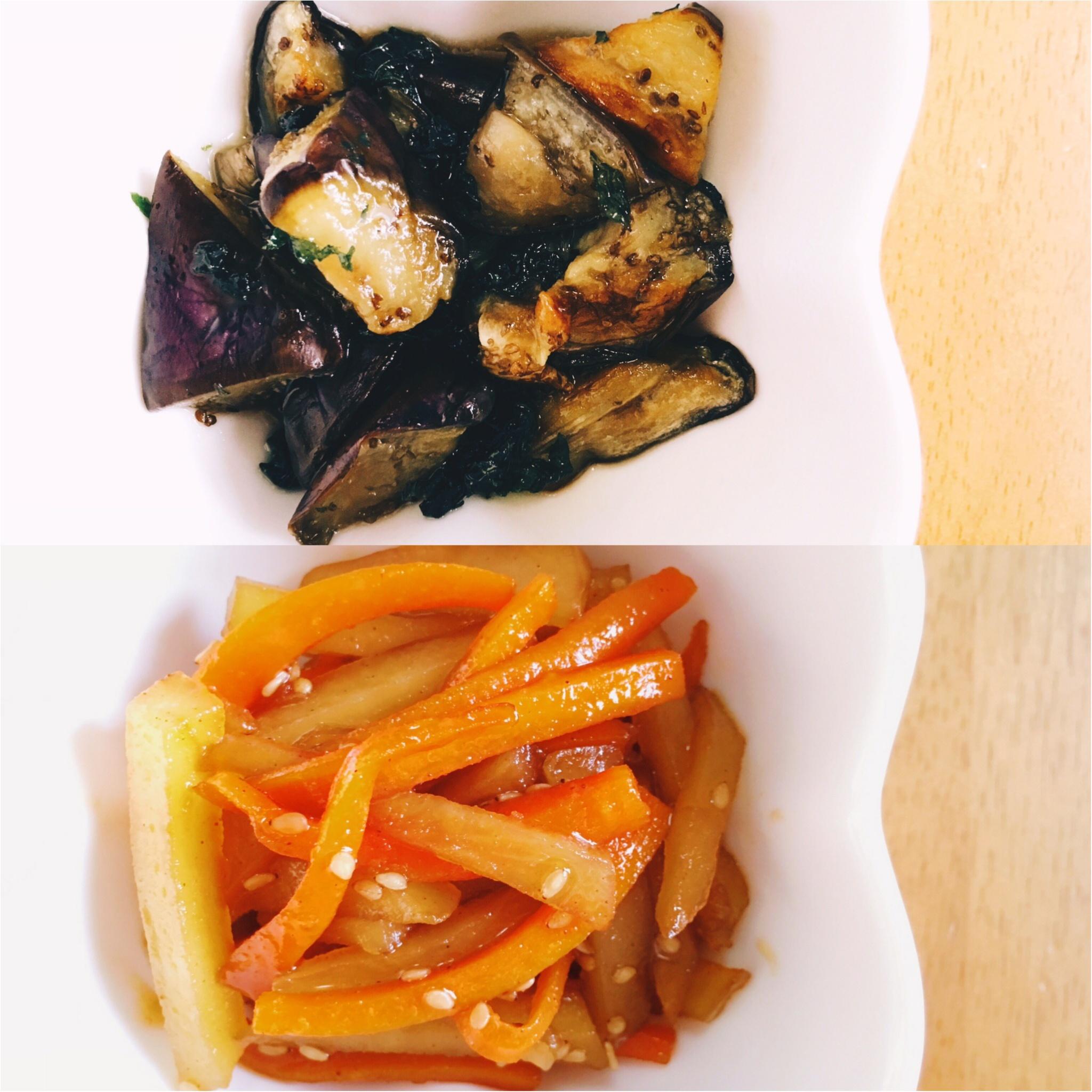 【おうちごはん】冷やしても美味しい!ご飯のおともに夏野菜おかず_2