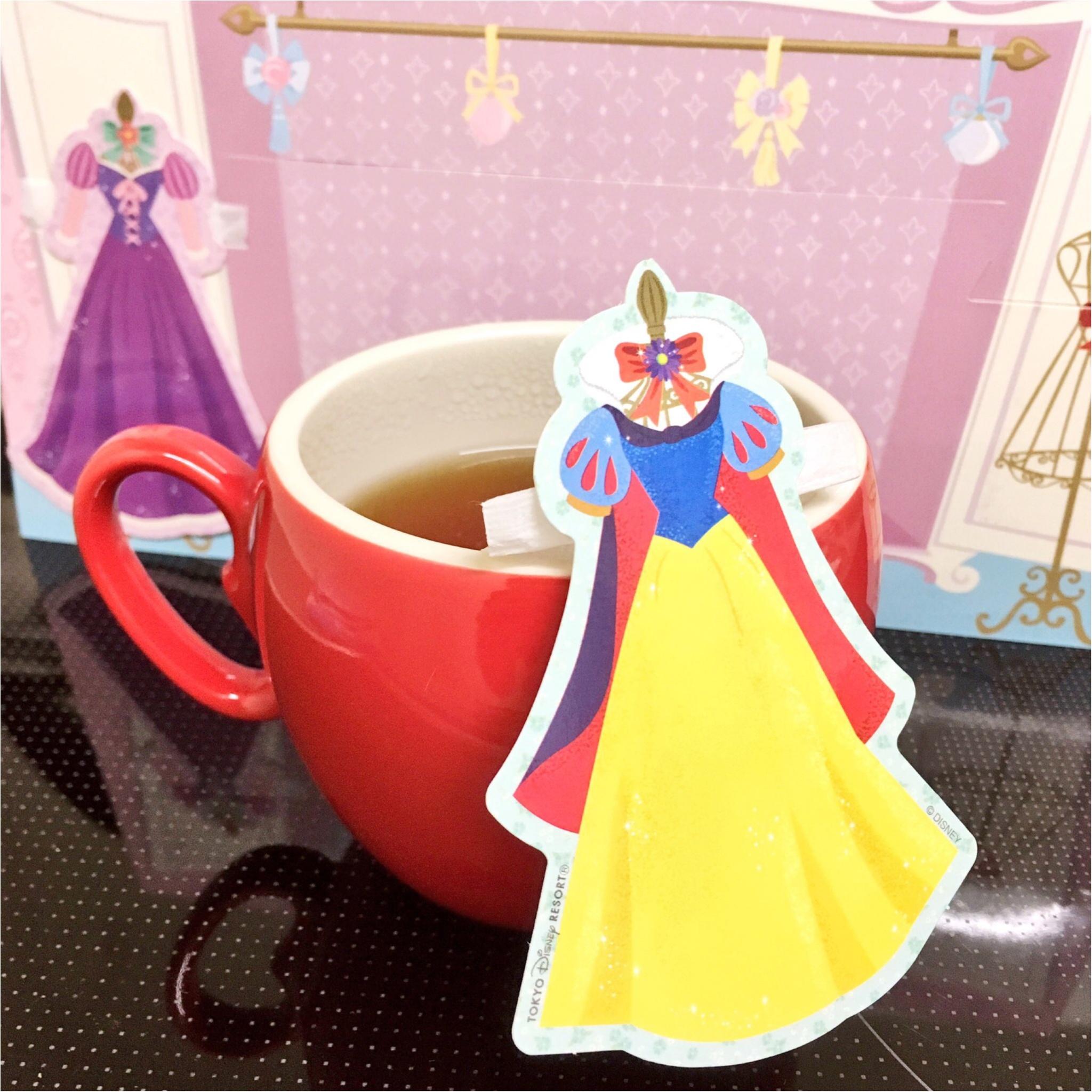 ディズニープリンセスのティーバッグが神♡かわいい(*°○°*)!_3