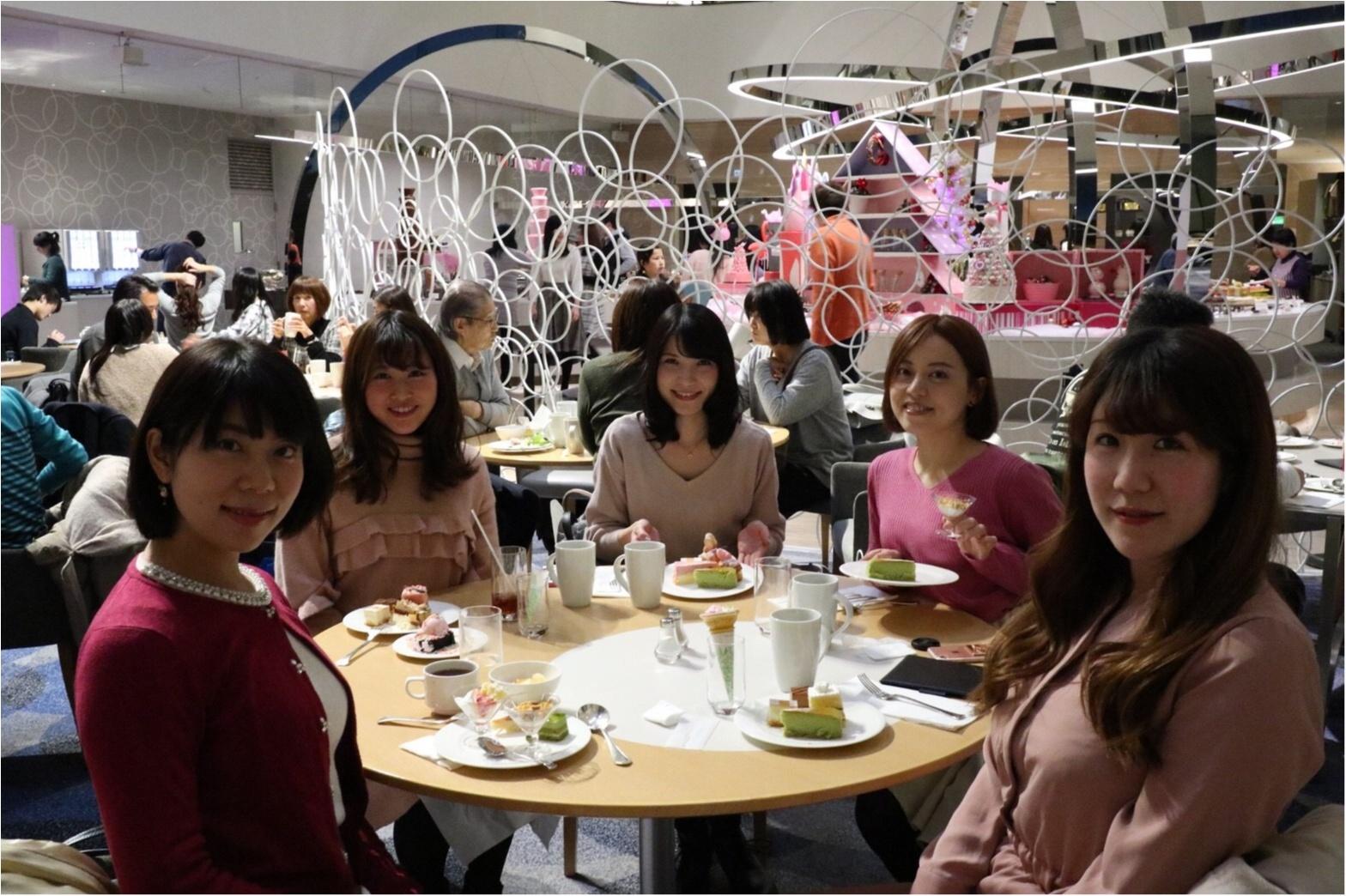 【スイーツ】モアハピ部でピンククリスマス♡_1