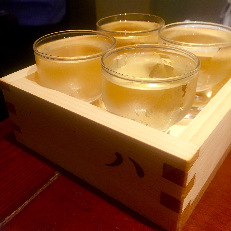 日本酒×イタリアン!異色な組み合わせが、ものすごく心地よい◎!_5