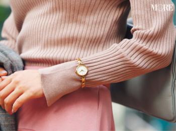 【腕時計】フェミニンタイプ&メンズタイプの腕時計photoGallery