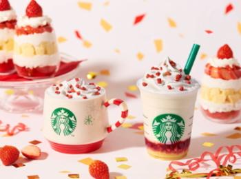 【スタバ新作】クリスマス2019第1弾♡ 「メリーストロベリー ケーキ ミルク/フラペチーノ」にきゅん!