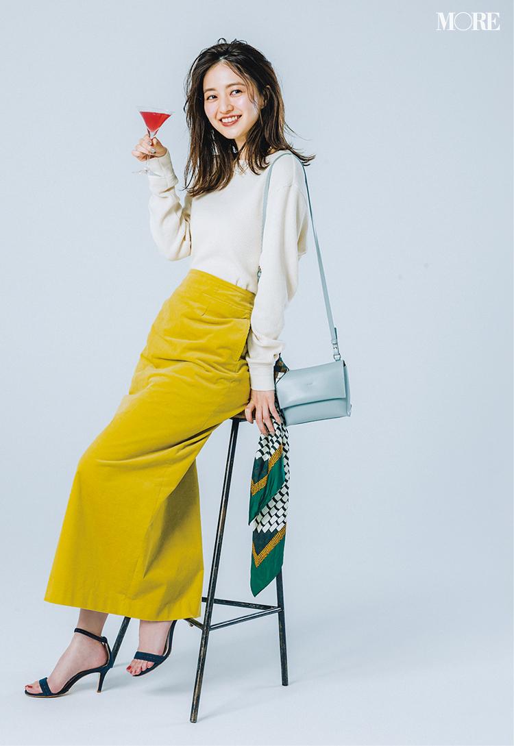 意外!? 黄色のロングタイトスカートがとにかく使える、5つの理由と5つの着回し例!_2
