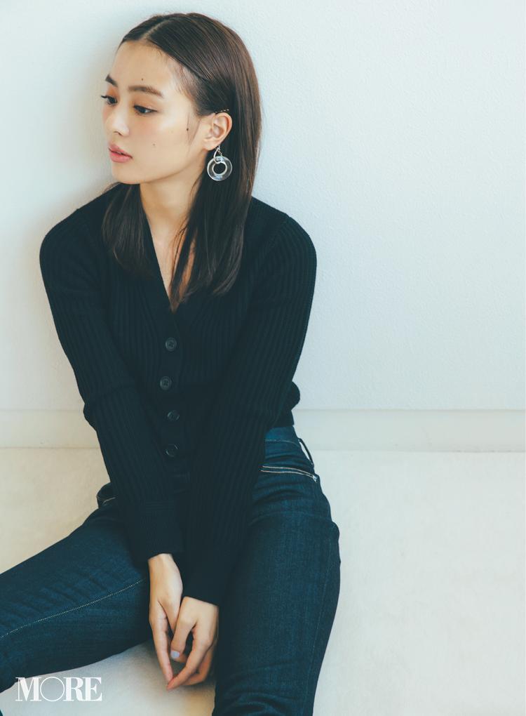 【2019年冬のおすすめ『ユニクロ』コーデ18】 リブ編みのカーディガン