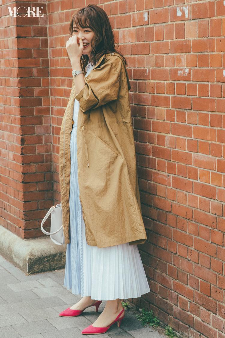 ベージュコーデ特集(20代後半女子向け)- 春におすすめのワンピースやスカート、靴などのコーディネートまとめ_8