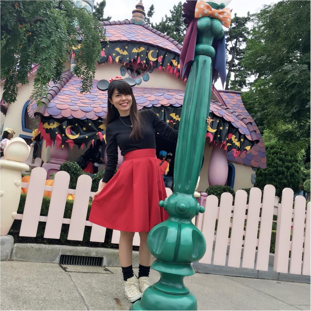 プチプラ&カンタンに仮装はできる!ミニー風コーデで週末はハロウィーンイベントを楽しもう♡_1