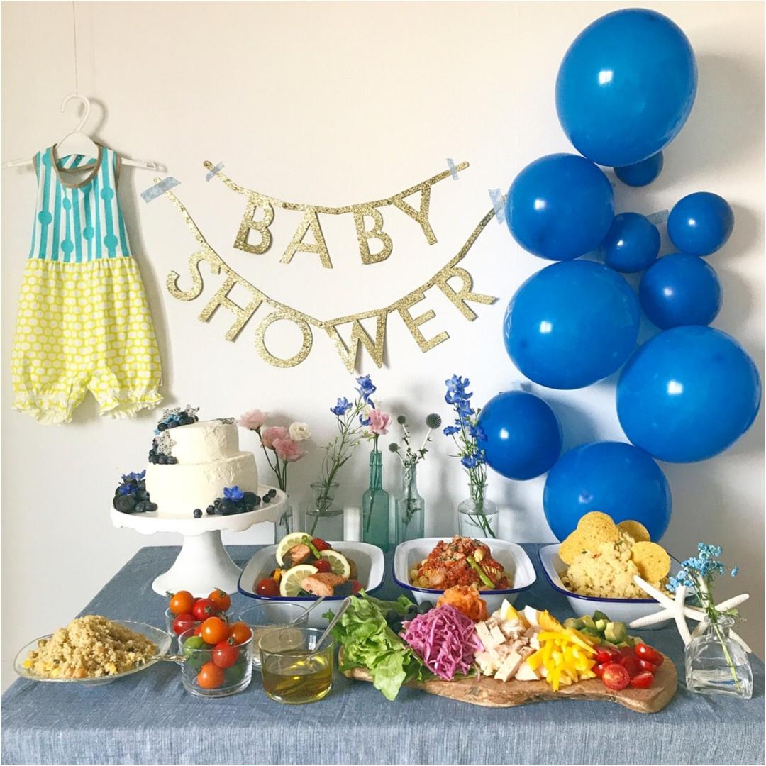 【PARTY】妊婦さんの祝事♡赤ちゃん生まれるお祝いパーティー!「ベイビーシャワー」をしました♡_1