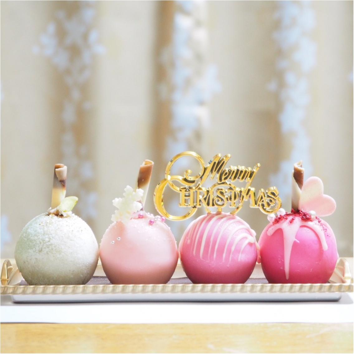 女子会に♡品川プリンスホテルの球体型クリスマスケーキ♡_2