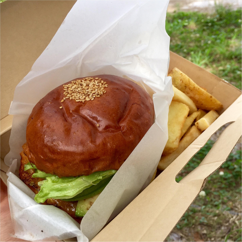 鴨川ピクニック♡グランドバーガーのテイクアウトがおすすめ!_2