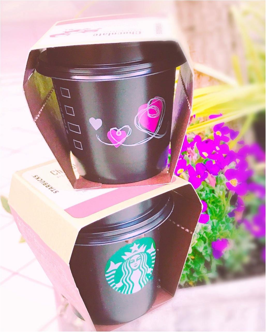 《今だけの限定‼︎》スタバの超人気【チョコレートプリン】のカップが可愛いバレンタイン仕様に♡食べ終わった後のプリンカップの活用法も教えちゃう( ´艸`)_2