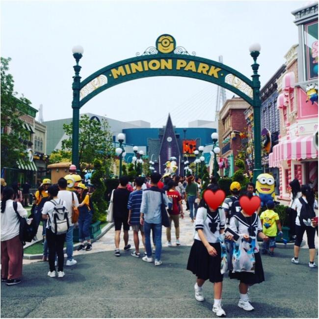 【USJミニオンパークを遊び尽くす♡】asuの大阪旅行☺︎_1