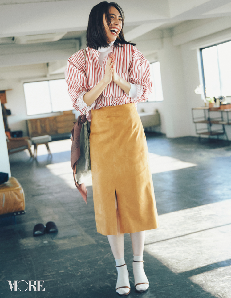 """コレ流行ります!""""体がきれいに見える""""タイトスカートは「素材」で選ぶ♬_1_4"""