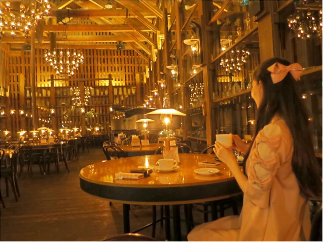 幻想的で美しい♡167個のランプが灯る喫茶店 『 北一ホール 』の世界にうっとり♡♡_5