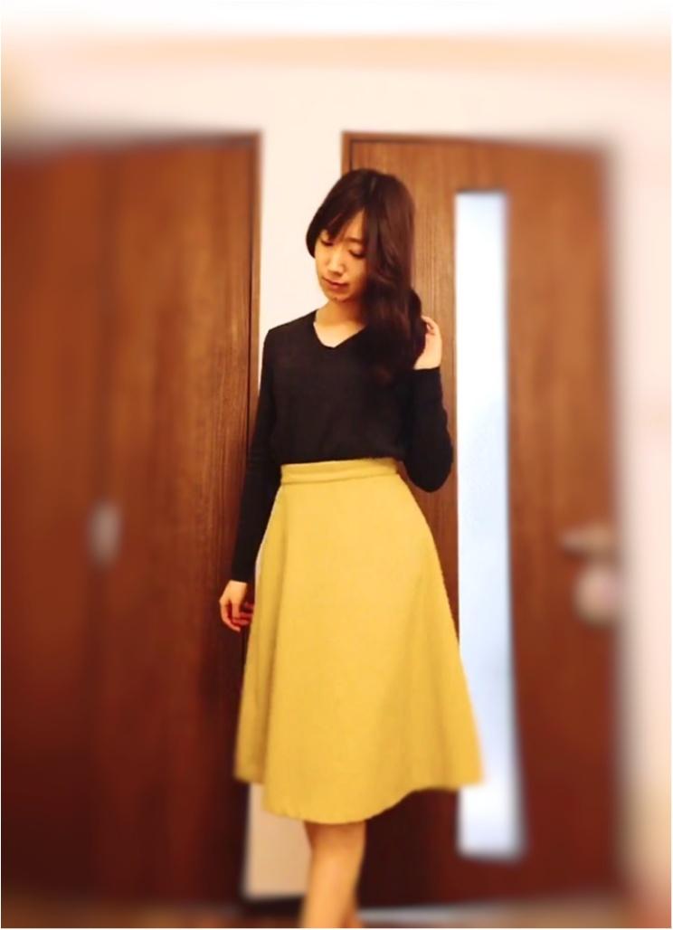 """【AG by aquagirl】50%OFFの""""シャギーフレアスカート""""のシルエットに一目惚れ♡_2_1"""