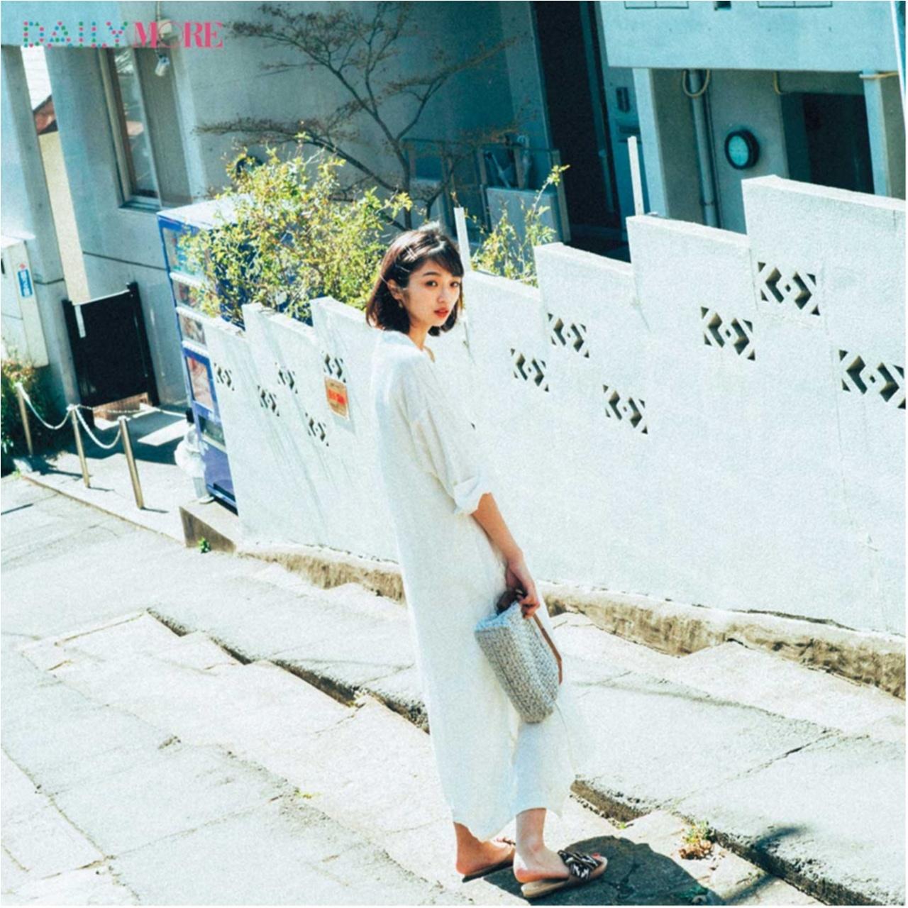 好印象をGETしたい日の鉄板カラー♪「白」のアイテムを使ったコーデまとめ♡_1_3