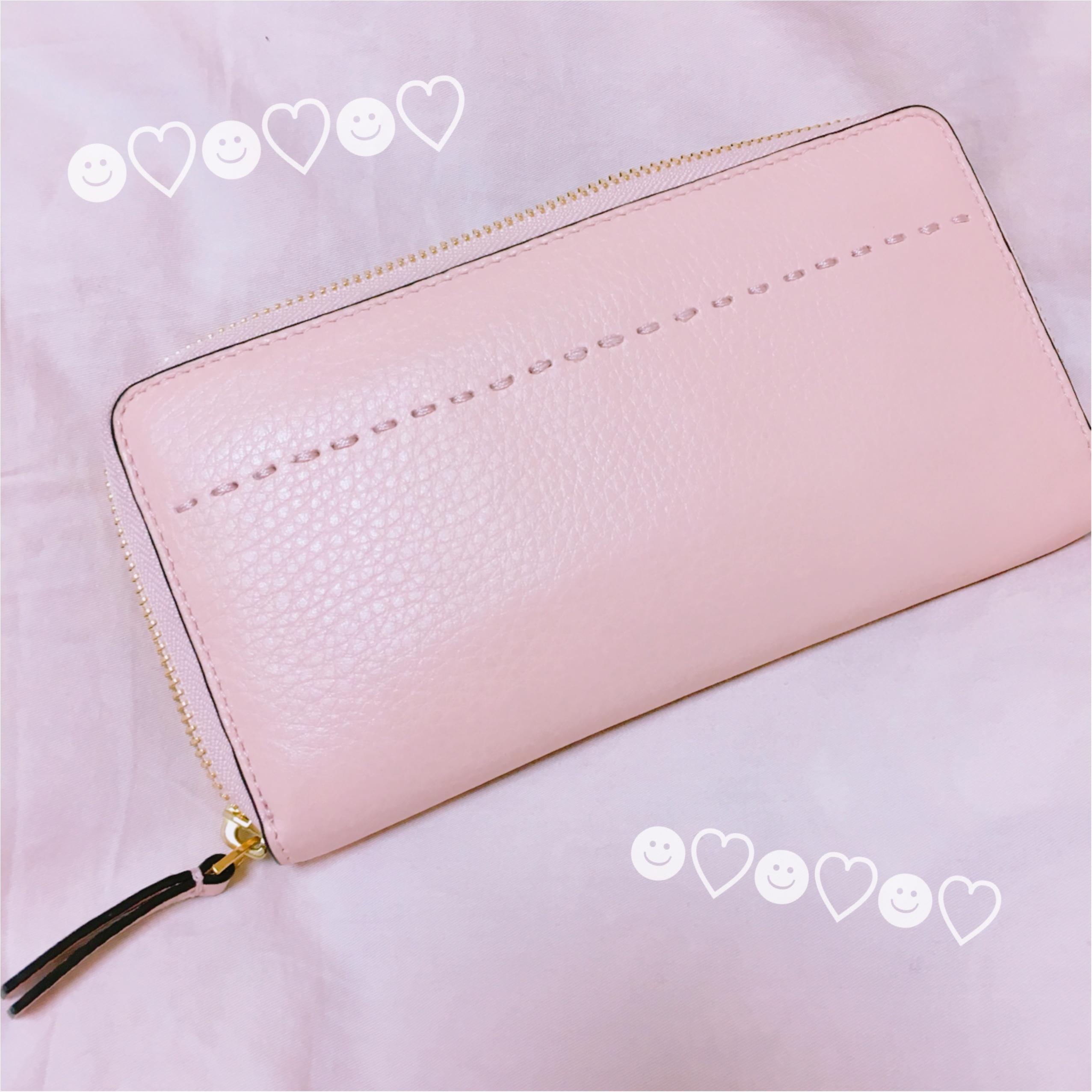 《恋愛運UPに効く最強カラー★》【TORY BURCH】でピンクの財布を新調しました❤️_2