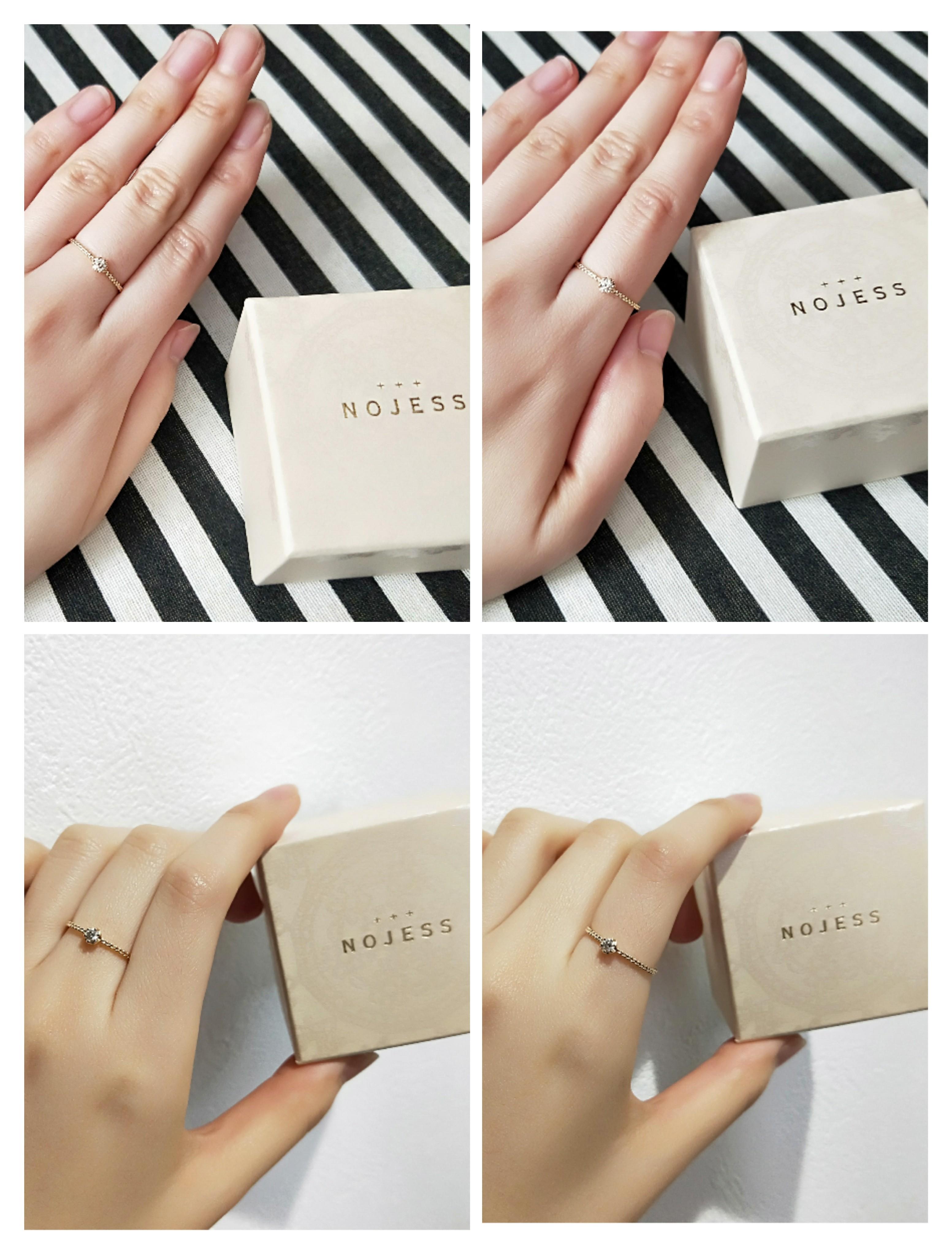 【NOJESS代官山店】ニューオープン記念した限定商品の一粒ダイヤリングを購入♡_2