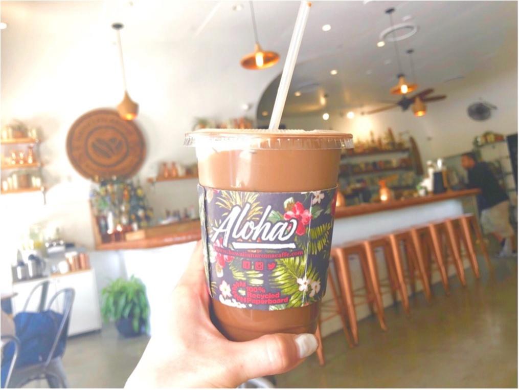 【Hawaii】おすすめ隠れ家カフェをご紹介します!!美味しいワッフルと内装が可愛いすぎる♡♡インスタ映えするフォトスペースも!?_9