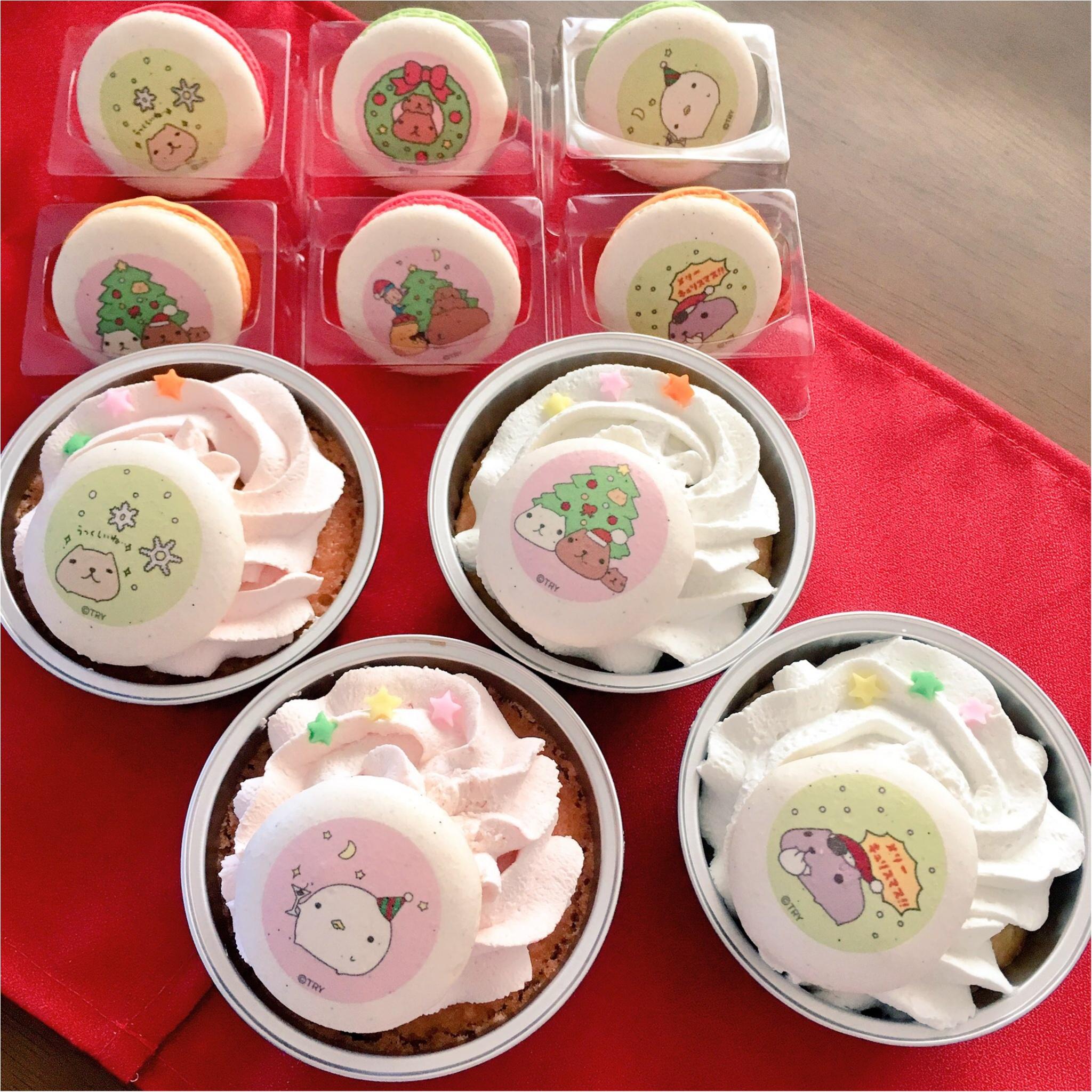 【キャラクター】クリスマスにはかわいいカピバラさんケーキで盛り上がっちゃおう(*>ω<*)♡ 【ケーキ】_2