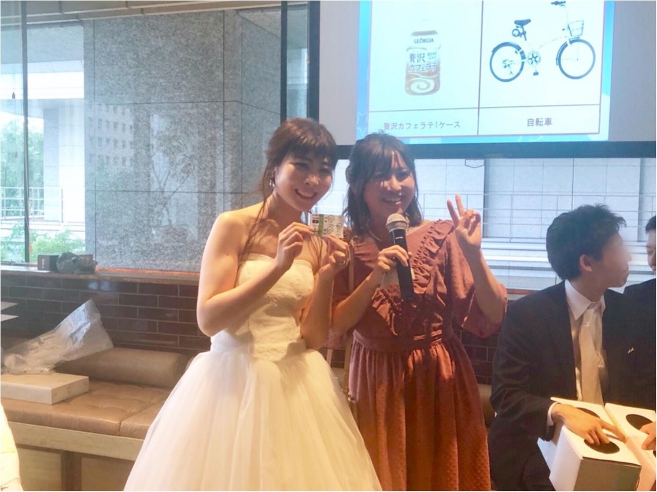【二次会】MOREインフルエンサーNo.600 asuちゃんの結婚式レポ❤︎_7