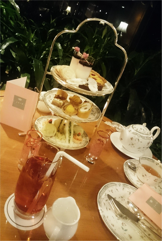今日からはじまった「ホテル椿山荘東京」の桜イブニングキュートティーへ行ってきました♥_12