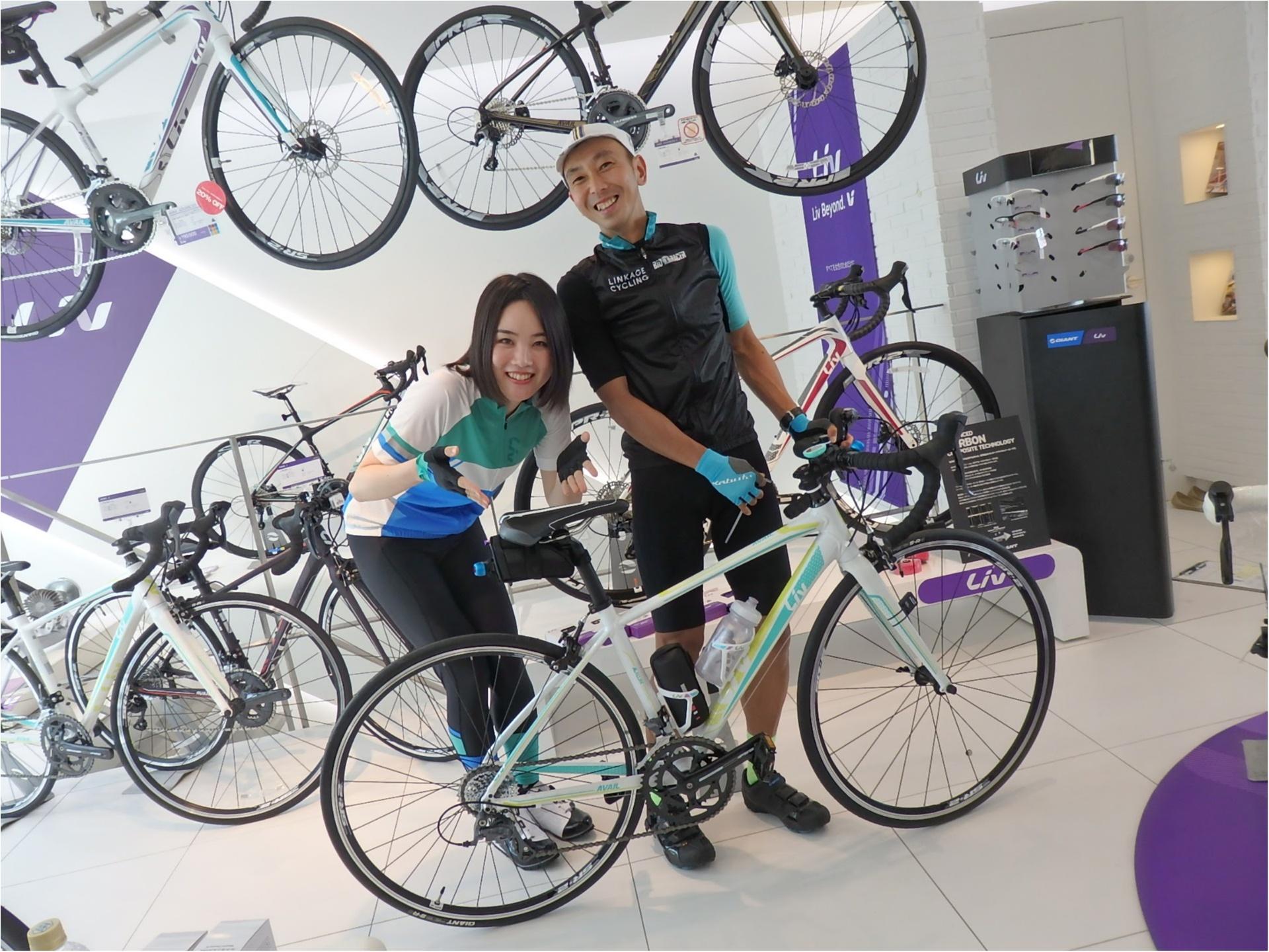 初ロードバイク!!『 ツール・ド・東北』三人娘、全員で練習スタート♪まずは室内練習から!【#モアチャレ あかね】_1