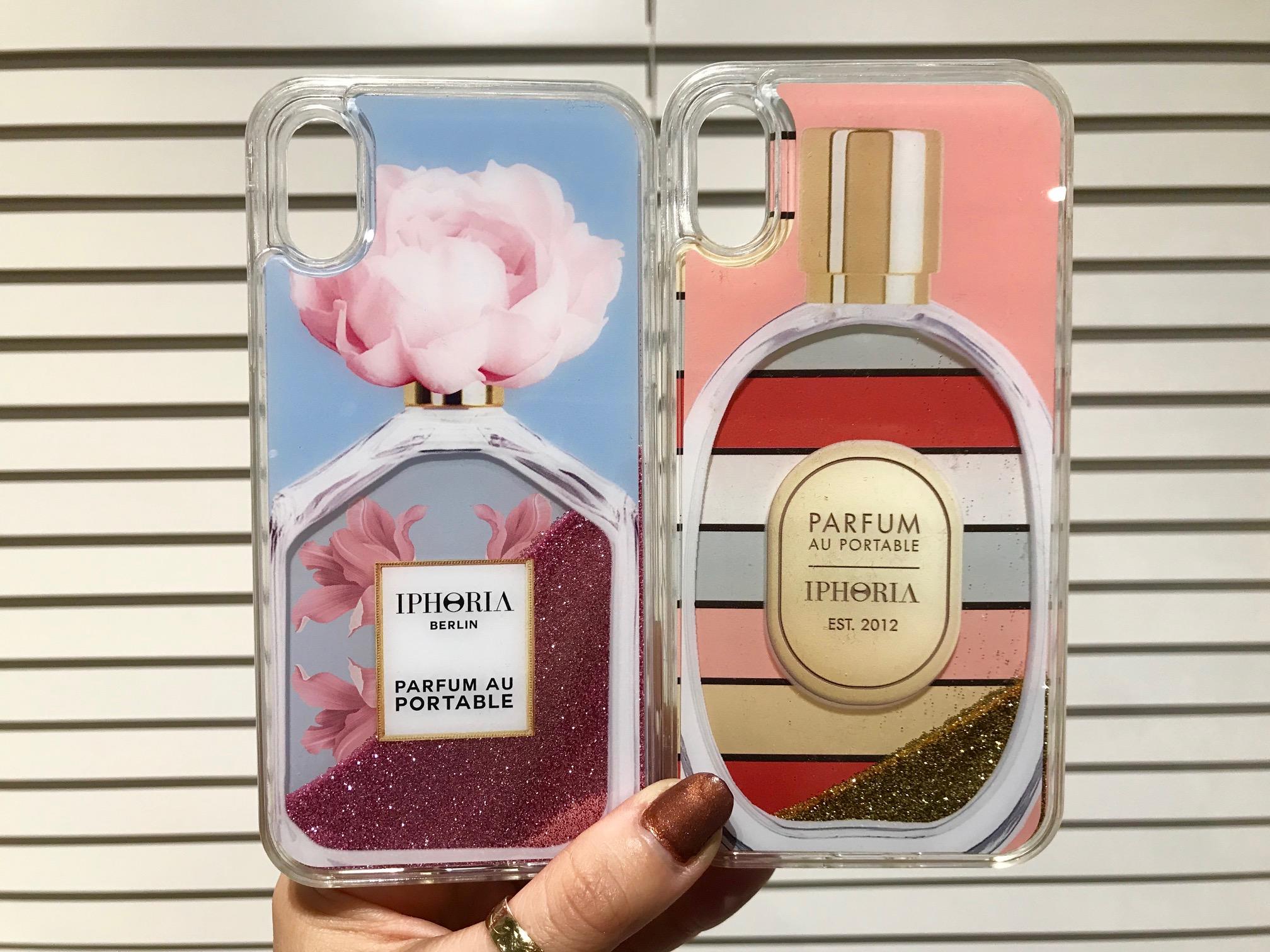f51f472866 そして、『IPHORIA 』の看板デザインとも言える香水モチーフからも新しい柄が登場。「それどこの?」って聞かれる、キラキラのお目立ちデザインは、やっぱり可愛い!