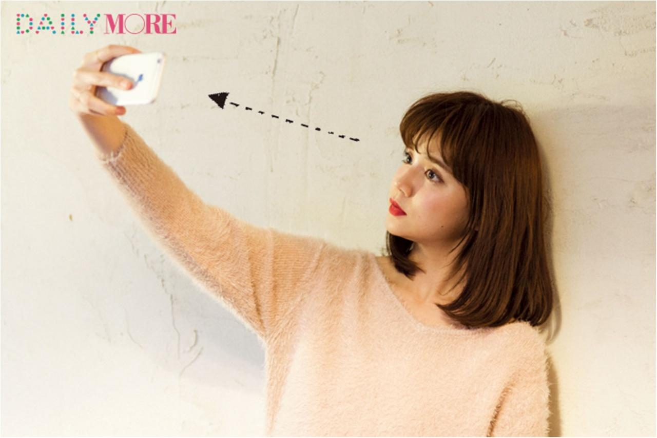 友達にはナイショ!? 驚くほど可愛く撮れる♡ 小田切ヒロさんの「最強自撮り」4つのテクニック_2