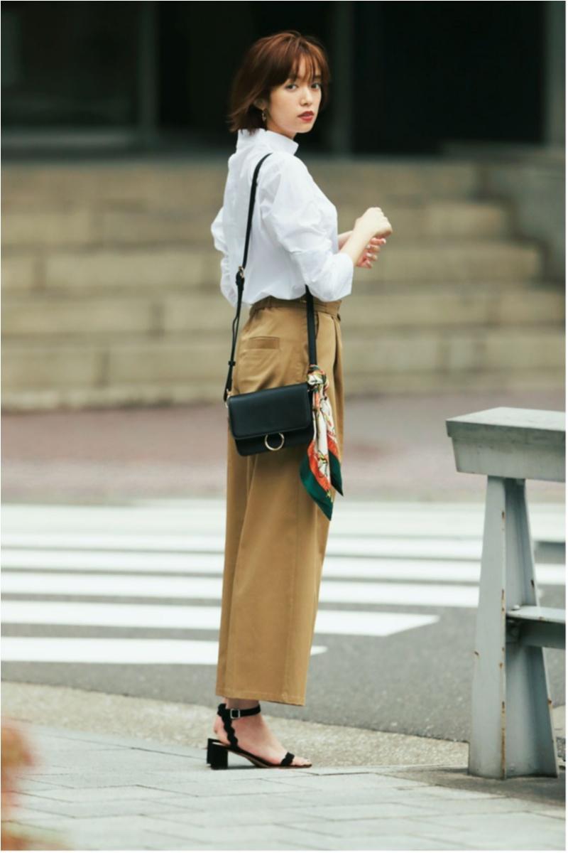 秋のマストアイテム、1枚で着られる【シャツ&ブラウス】カタログ | ファッション_1_8
