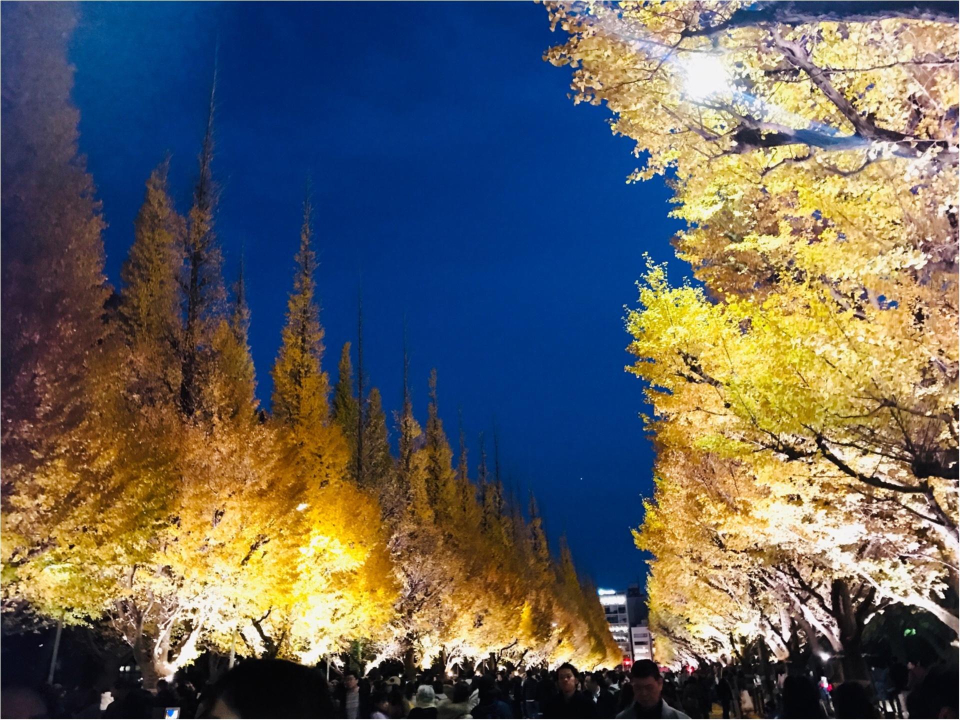 【紅葉スポット】美しすぎる黄色のトンネル《神宮外苑イチョウ並木》今が見頃です♡_6