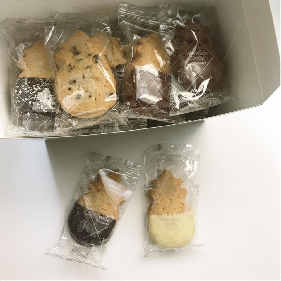 【ハワイ女子旅のお土産7】ハワイ土産の定番♡ 「ホノルル・クッキー」