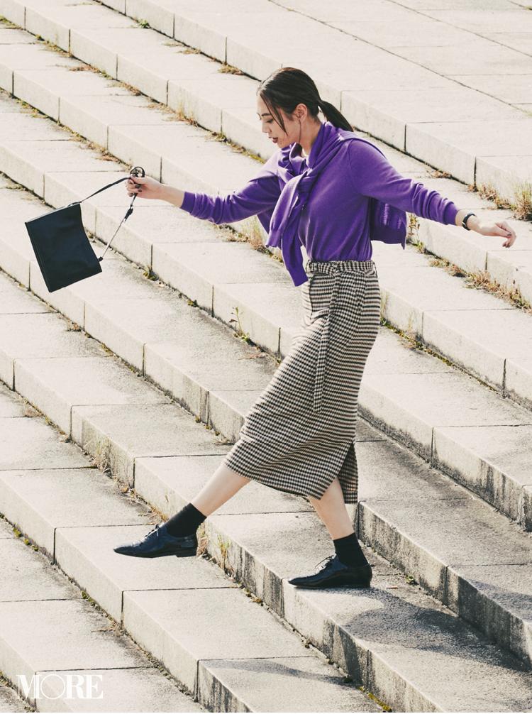 注目のきれい色【パープル】コーデ見本   ファッション(2018年秋冬編)_1_32