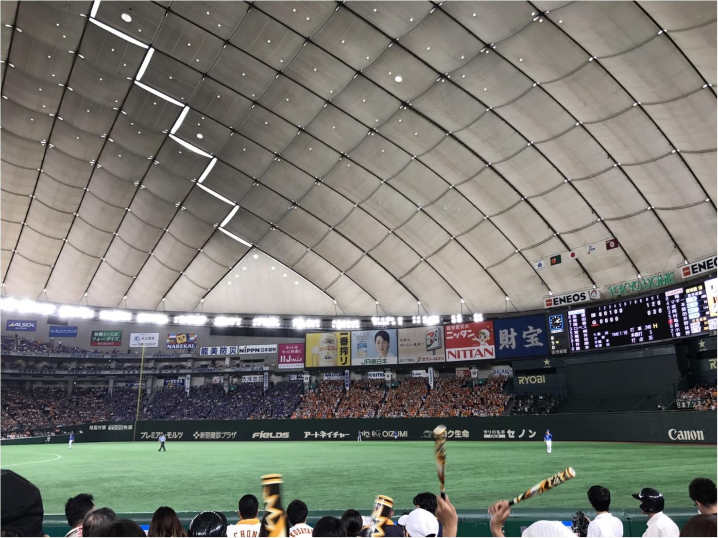 東京ドームで野球観戦!!&【二子玉川花火大会】私の穴場スポット♡!_1